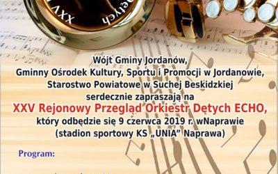 XXV Rejonowy Przegląd Orkiestr Dętych ECHO