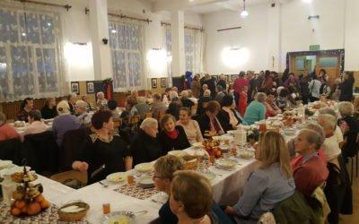Wigilijne spotkanie samotnych i chorych w Osielcu