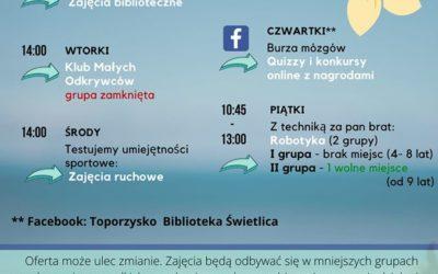 WAKACJE TOPORZYSKO 2020