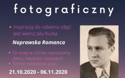 "Konkurs fotograficzny ""Naprawska Romanca Jalu Kurka"""